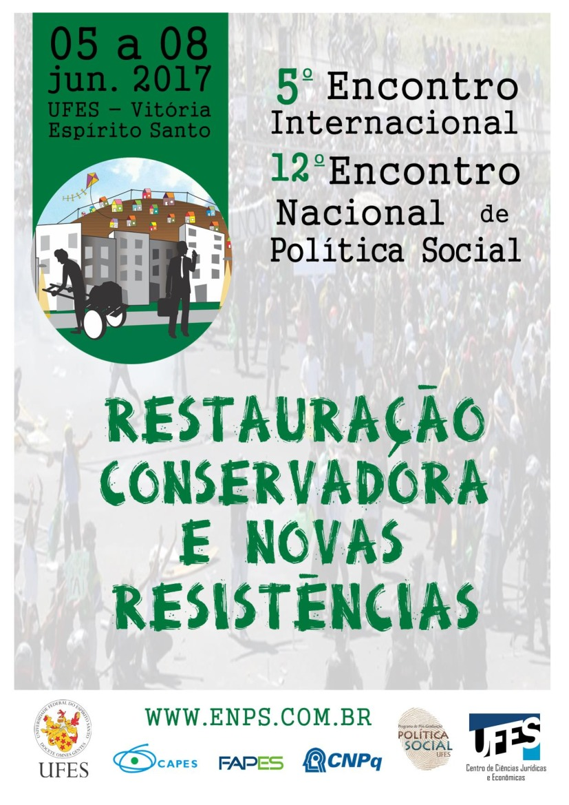 5º Encontro Internacional e 12º Encontro Nacional de Política Social